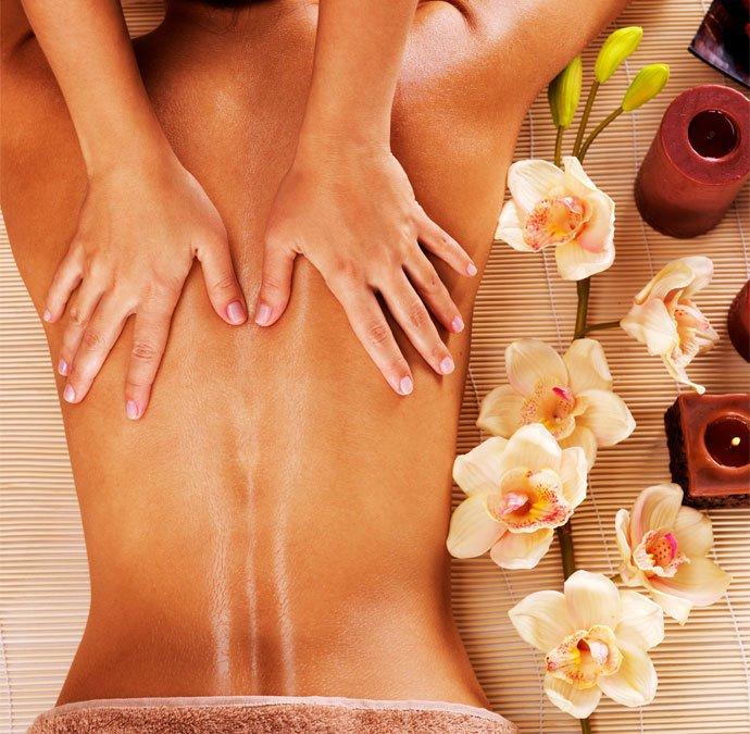 heure et le lieu du massage